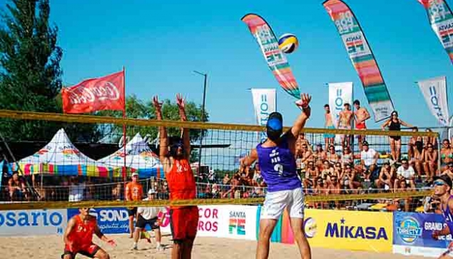 Finalizo el Grand Slam de Beach Voley en Rosario